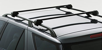 2009 Saab 9-7 X Standard Black Square Roof Rack 400132429