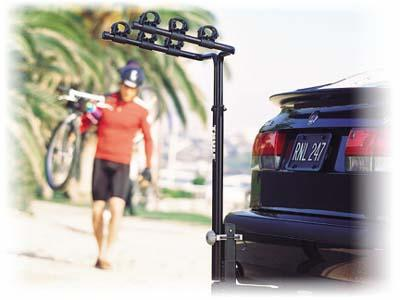 2010 Saab 9-3 SportCombi Hitch-Mounted Bike Carrier 0200301