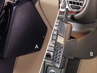 2000 Saab 9-3 Phone Cradle Mount