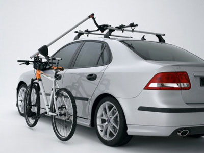 2008 Saab 9-3 SportCombi Bike Carrier with Lift