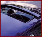 Genuine Saab Sunroof Wind Deflector